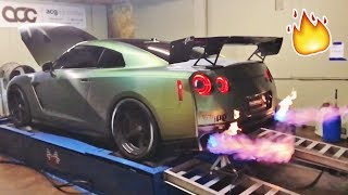 Download MY GTR SPITS 5FT FLAMES!!! **not photoshopped** Video