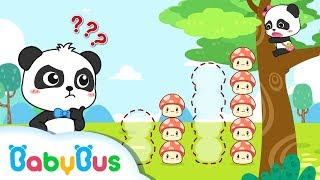 Download Baby Panda's Trapped on a Big Tree | Mushroom Fairies, Angry Bull | Math Kingdom Adventure | BabyBus Video
