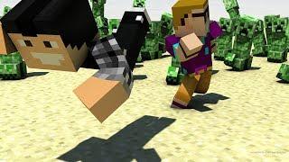 Download (EN RETARD) MINECRAFT AVEC FURIOUS JUMPER MAIS IL PLEUT DES CREEPERS !! !! Video