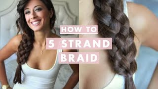 Download How To: Five (5) Strand Braid Video