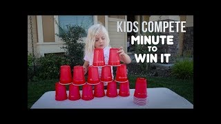 Download MINUTE-TO-WIN-IT GAMES | Kids Compete! Video