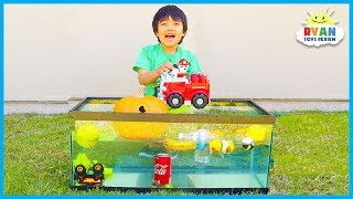 Download Sink or Float for Kids Science Experiments you can do at home with Ryan ToysReview! Video