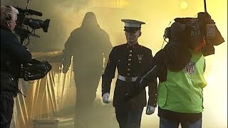 Download Local Marine Surprises Family with Homecoming at Steelers Game Video