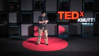 Download สร้างเด็กให้สร้างสรรค์ | Teepanis Chachiyo | TEDxKMUTT Video