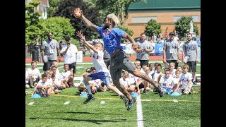 Download Giants' Odell Beckham wows crowd at football camp Video