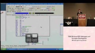 Download DEFCON 16: Malware RCE: Debuggers and Decryptor Development Video