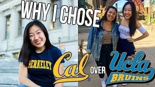 Download WHY I CHOSE UC BERKELEY OVER UCLA // PART 1 Video