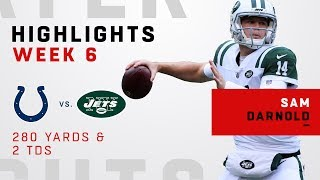 Download Sam Darnold's Big Day w/ 280 Yards & 2 TDs vs. Colts Video