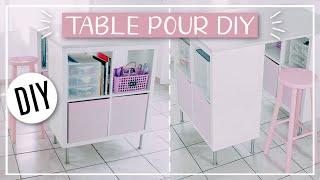 Download FABRIQUER UNE TABLE DE DIY : DIY Facile & Pas Cher ! Video