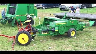Download Amish Baling Hay Without Engine Power Video