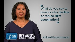 Download Talking With Parents Who Decline HPV Vaccine: A Nurse Practitioner's View Video