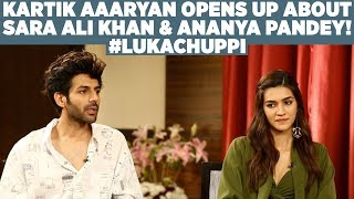 Download Kartik Aaryan opens up about Sara Ali Khan & Ananya Pandey! #LukaChuppi Video