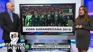 Download Avión del Chapecoense brasileño sufrió un accidente en Colombia Video