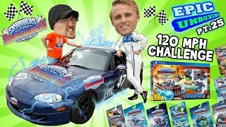 Download Unboxing Skylanders SuperChargers @ 120mph 🏁 RACING CHALLENGE 🏁 (Epic Unboxing pt. 25) Video
