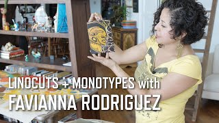 Download Linocuts + Monotypes with Favianna Rodriguez | KQED Arts Video