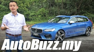 Download Volvo V90 T6 R-Design review - AutoBuzz.my Video