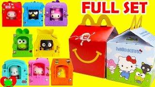 Download 2016 Hello Sanrio McDonald's Happy Meal Toys Hello Kitty Full Set Video