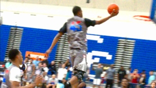 Download Cassius Stanley Jumps Higher On Layups Than Most Do Dunking! 2017 Pangos AA Highlights Video