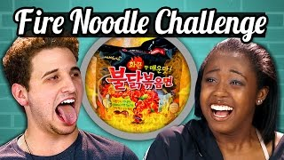 Download TEENS vs. FOOD - FIRE NOODLE CHALLENGE Video