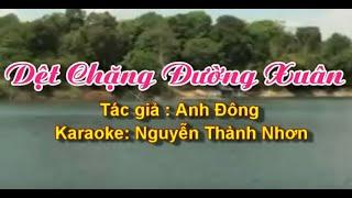 Download KARAOKE VỌNG CỔ DỆT CHẶNG ĐƯỜNG XUÂN [SONG CA] Video