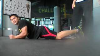 Download Stretching after leg day Video