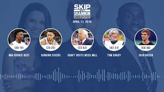 Download UNDISPUTED Audio Podcast (4.11.18) with Skip Bayless, Shannon Sharpe, Joy Taylor | UNDISPUTED Video