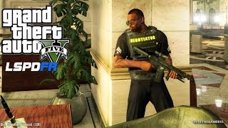 Download GTA 5 LSPDFR EPiSODE 96 - LET'S BE COPS - PACIFIC BANK HEIST (GTA 5 PC POLICE MODS) Assorted Calls Video