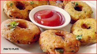 Download झटपट बनाइये सूजी मसाला नमकीन Donut रेसिपी | Suji Masala Namkeen Donut | Rava Donut Recipe | Namkeen Video