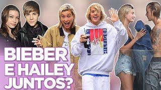 Download BIEBER E HAILEY BALDWIN: O BEIJO, PASSADO, SELENA, SHAWN MENDES... | Foquinha Video