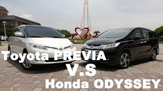 Download 旗鼓相當 Toyota PREVIA v.s. Honda ODYSSEY Video