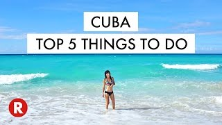 Download Top 5 Things To Do In Cuba // Don't Miss These Spots! // Cuba Travel Tips 2017 Video