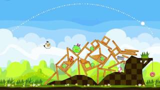 Download Angry Birds Seasons - Easter Eggs Gameplay Trailer Video
