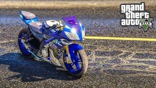 Download R15 บิดหมดปลอก ถอกหมดไมค์ (GTA V Yamaha YZF-R15 Mod) Video