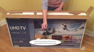 Download Samsung 55″ 4K Smart LED Ultra HD TV Unboxing - UN55KU6270FXZA Video