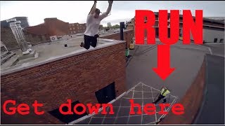 Download TOP 5 PARKOUR vs SECURITY | Epic Real Parkour POV Escape From Security Compilation 2017 Video