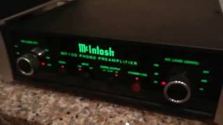 Download McIntosh MP100 phono preamp Video