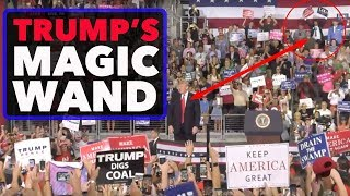 Download Vincent Fusca at Trump Rally in Erie, PA - Is JFK Jr Trump's Magic Wand? Video