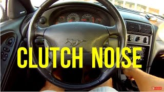 Download How To Diagnose A CLUTCH NOISE Problem | Ford Mustang Gt | Bearings Video