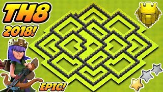 Download INSANE Town Hall 8 (TH8) Trophy Base 2018!! | Th8 Trophy Base 2018! | Clash Of Clans Video