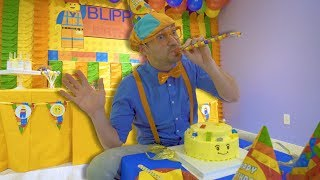 Download Blippi Learns at the Indoor Play Place | Educational Videos for Toddlers Video