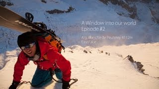 Download Incredible 2nd Ski Descent of Aiguille Blanche du Peuterey - A Window into Our World, Ep 2 Video