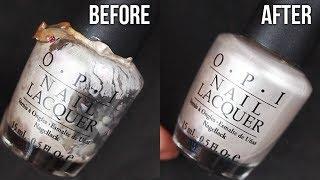 Download HOW TO RESTORE OLD NAIL POLISH (Nail Polish 101) || KELLI MARISSA Video