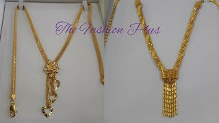 Download Gold Chain Necklaces Latest Designs-The Fashion Plus Video