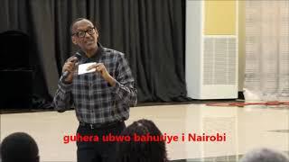 Download Kagame avuga uko bishe Seth Sendashonga yarenze umurongo ko nta nimbabazi Video