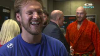 Download Ben Davison reveals why Tyson Fury is heavier now than the Deontay Wilder fight Video