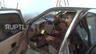 Download Iran: Iranian scientist takes his water-powered car for a spin Video