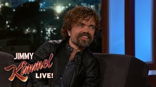 Download Peter Dinklage on Game of Thrones Cast Pranks Video