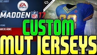 Download ITS LIT MADDEN 17 LAUNCH BUNDLE OPENING, CUSTOM MUT 17 JERSEYS NOW IN MADDEN 17 Video