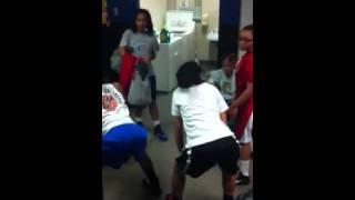 Download Campbell High girls basketball team wildin in locker room Video