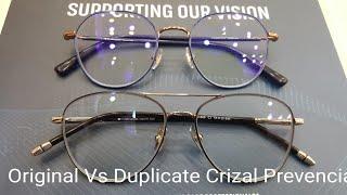 Download Original Vs Duplicate Crizal Prevencia . How to identify Original Crizal Prevencia ?? Video